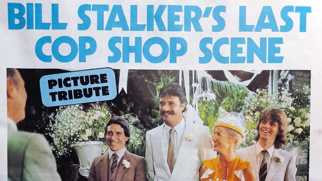 "TV Week: ""Bill Stalkers Last Cop Shop Scene"" Cop Shop 19th December 1981"