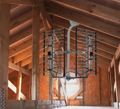 installation antenne tv grenier ou