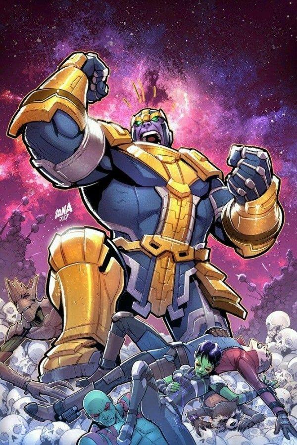 Les Gardiens De La Galaxie Thanos Dessin David Nakayama