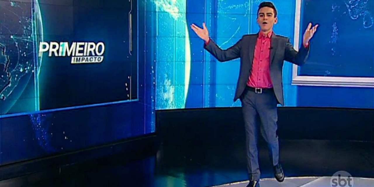 """Após polêmicas de Dudu Camargo, """"Primeiro Impacto"""" toma vice-liderança da Record"""