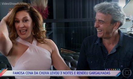 """Claudia Raia e Alexandre Borges brincam sobre pares românticos na TV: """"É cláusula de contrato"""""""
