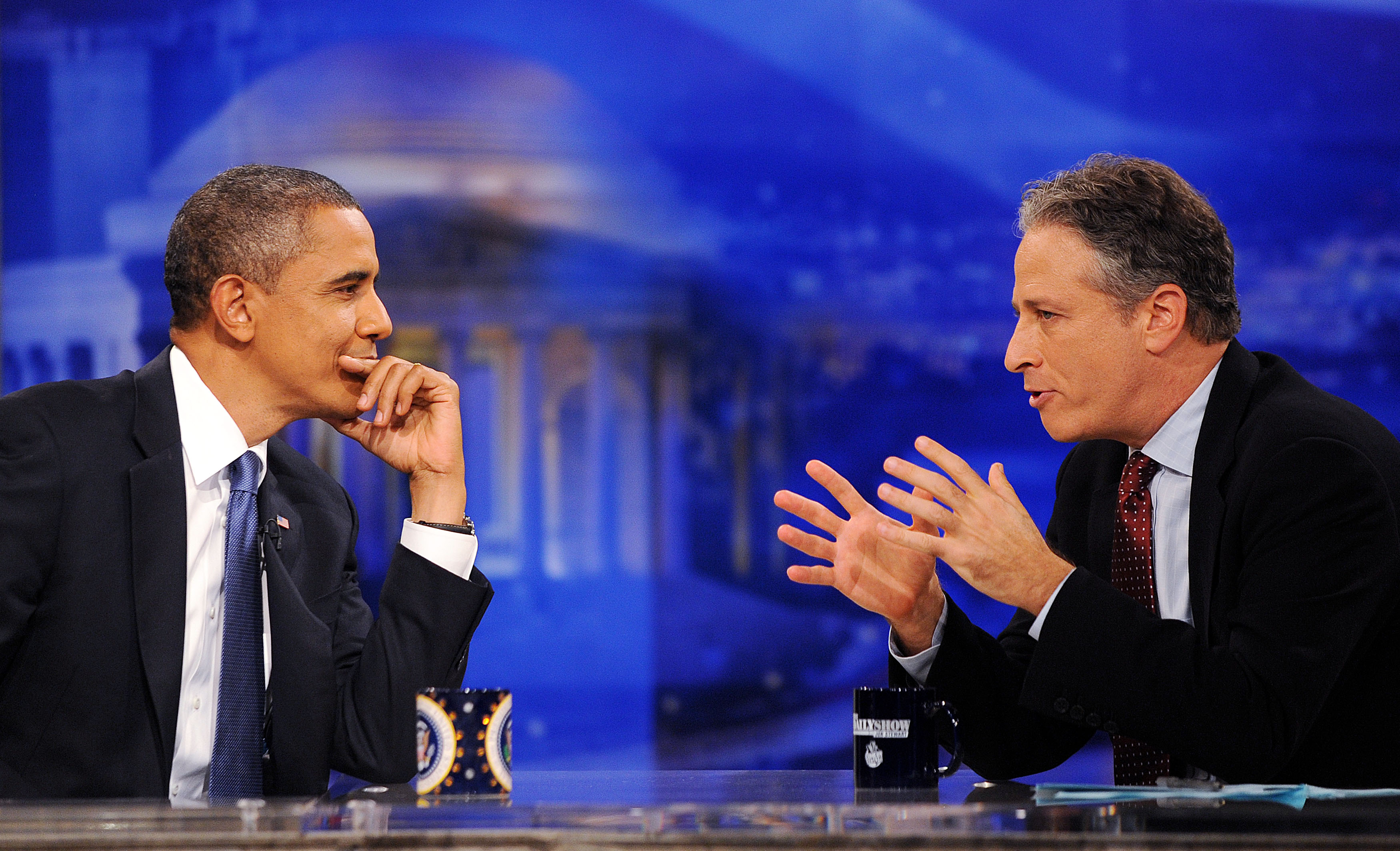 Relive All of President Obamas Daily Show Appearances