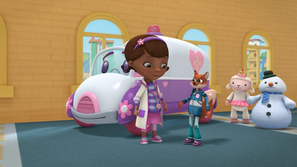 Doc McStuffins First Look At Molly Ringwalds Guest Spot As An Emergency Medical Toy  TV Insider