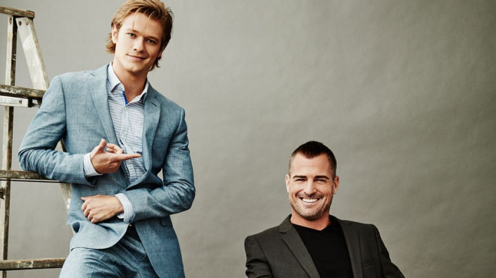MacGyver Lucas Till and George Eads on Their Brotherly