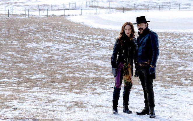 Melanie Scrofano Tim Rozon Wynonna Earp Season 4 Episode 5 Wynonna Doc