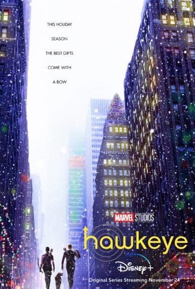 Hawkeye Key Art Disney+