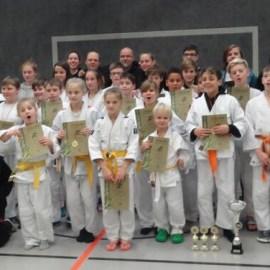 Judo: Nachtrag – TV Jahn sahnt beim letzten KPT im Jahr 2017 ordentlich ab