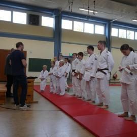 Judo: Gürtelprüfung im Herbst