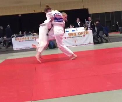 Judo: International Bremen Open 2019, Annika Nitschke erkämpft Bronze
