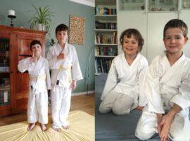 Judo: Erfolgreiche Online-Gürtelprüfung