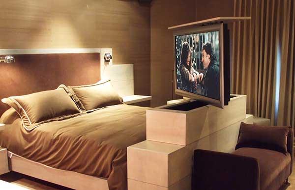 TV Lifts for Beds  Bedroom TV Lifts  Ideas  Nexus 21