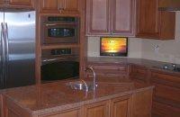 Small Kitchen TV | Drop Down TV in Kitchen - Nexus 21
