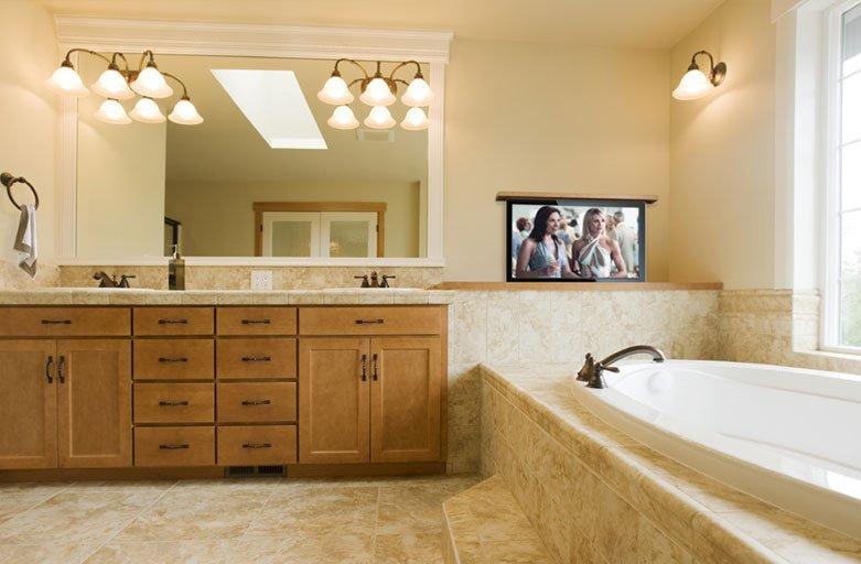 Bathroom TV Ideas Television Ideas For The Bathroom Nexus 21