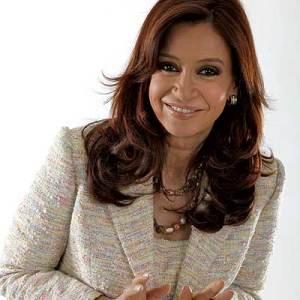 Cristina Fernández, presidenta de Argentina