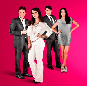 "Ricardo Álamo, Marisa Román, Luciano D'Alessandro and Norkys Batista star in ""De Todas Maneras Rosa"""