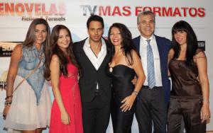 Agustin Bravo host from Spain and Amanda Ospina Summit creator; Telenovela Avenida Brasil of GLOBO (Brazil); Telenovela Cheias de Charme of GLOBO (Brazil) y Rafael Amaya as El Señor de los Cielos of Telemundo.