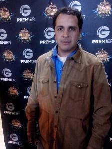 Gustavo Loza, productor de la serie.