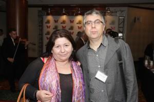 Ana Montes y Marcelo Camaño directivos de la asociación.