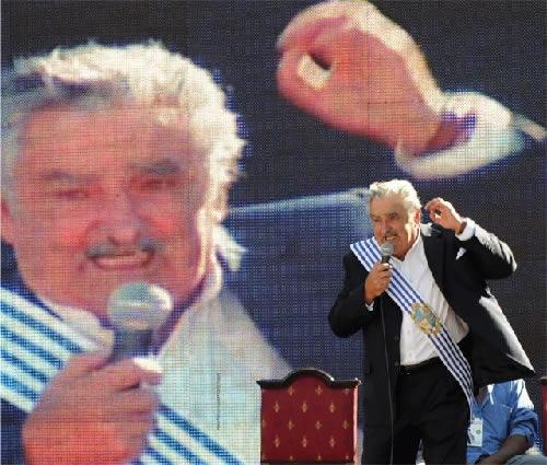 URUGUAY EX PRESIDENTE JOSE MUJICA