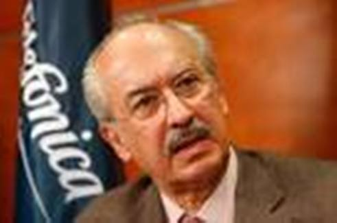Francisco Gil Diaz presidente de Telefonica de Mexico (1)