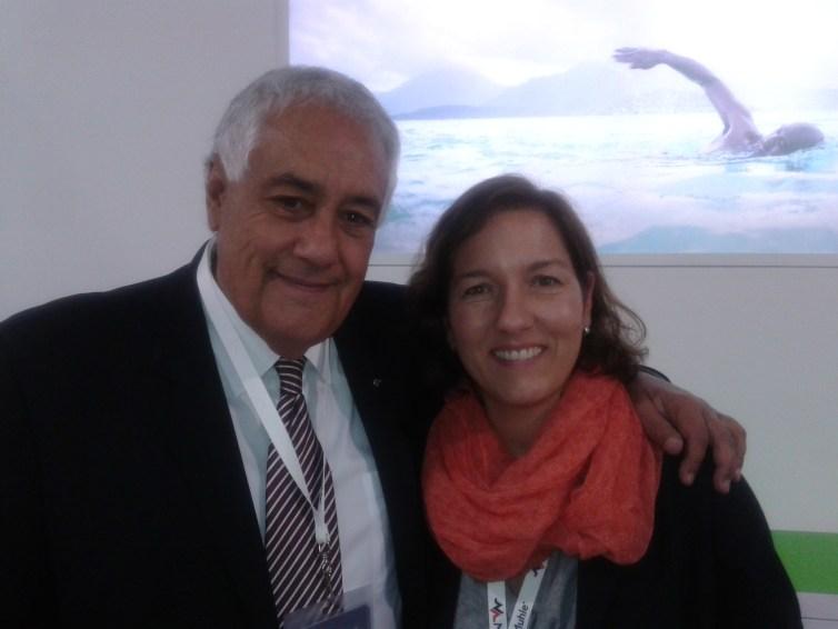 Manuel Mendez y Andrea  Hugemann