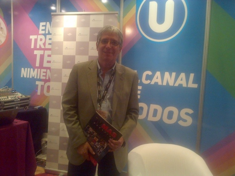 Waldemar Deus, Gerente General de Canal U
