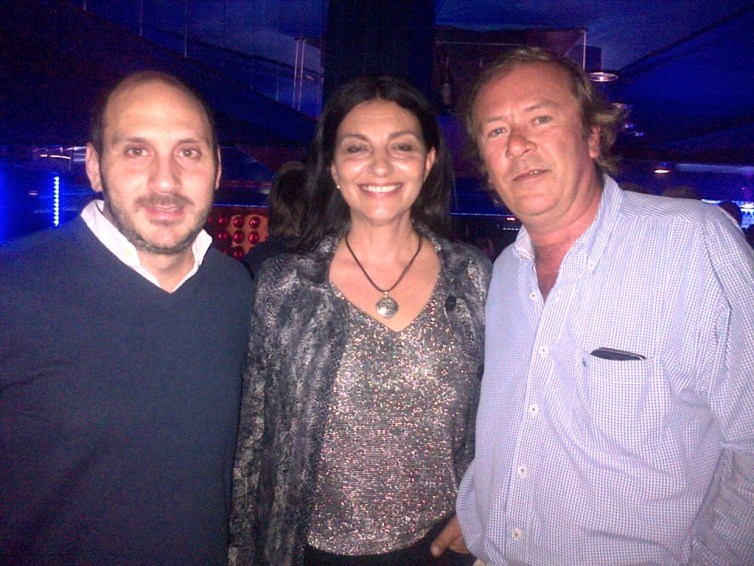 juan massuh de Mkt de Fox, maria Florencia de France 24 y Michel Bonet de GX Vision