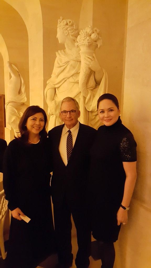 Leng Raymundo, Fred Cohen, and Charo Santos-Concio