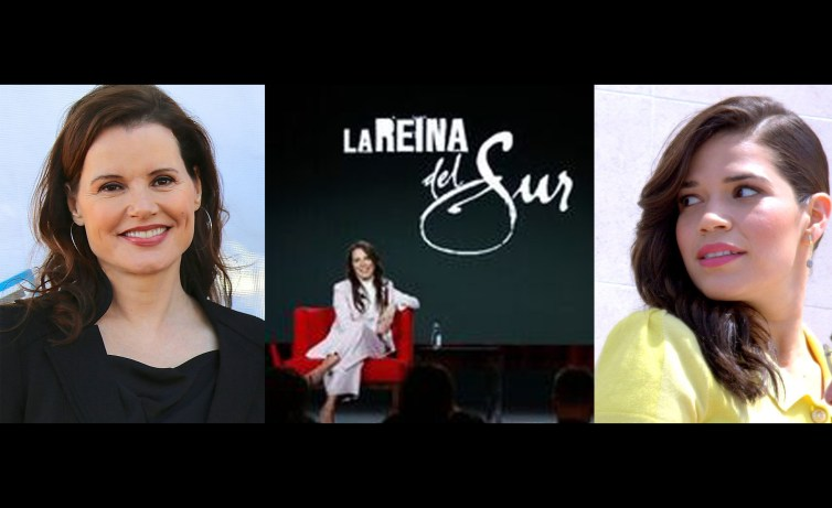 Geena Davis (Wikipedia), Kate del Castillo y America Ferrara (Wikipedia)