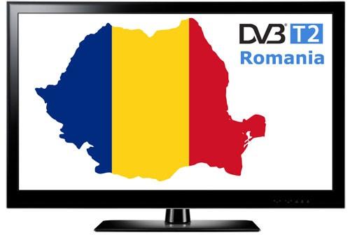 Romania DVB-T2