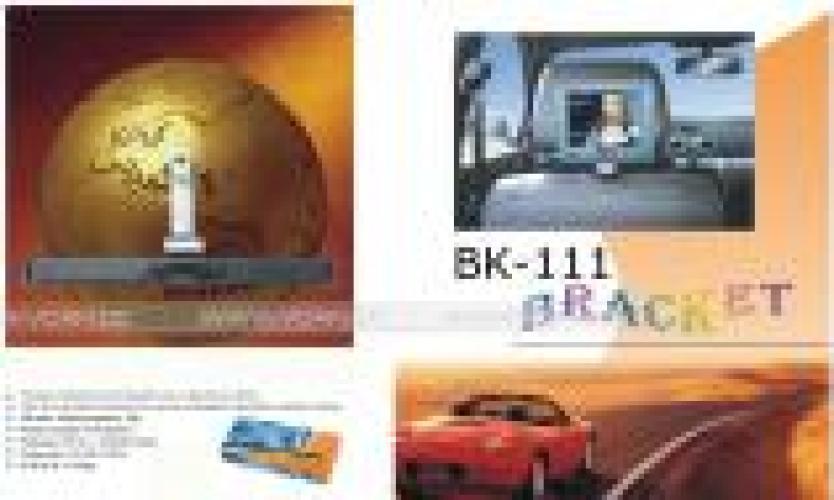 BK 111 Monitor Bracket for In car LCD MonitorTV 2