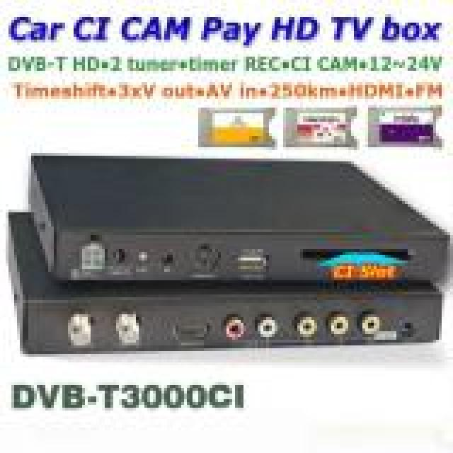 DVB-T3000CI In car MPEG2-4 CAM CI Module DVB-T DTV Europe TNT TDT CA 7 -