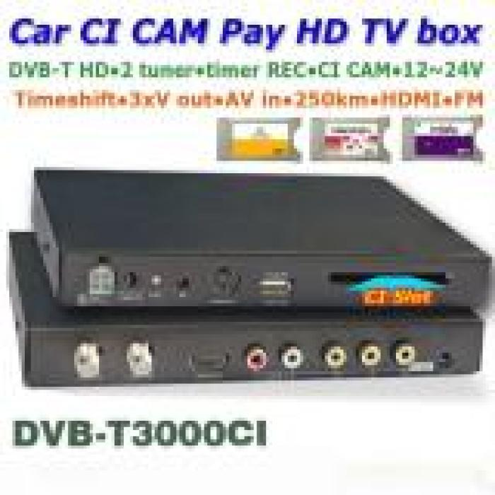 DVB T3000CI In car MPEG2 MPEG4 CAM CI MODULE DVB T receiver DTV Europe 3