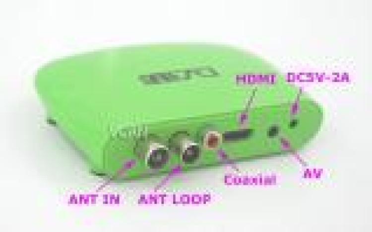 Mini HD DVB T2 Home Set Top Box with USB support PVR and H.264 750 1