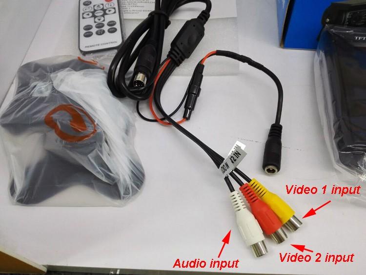 TM-564A 2 Video Input