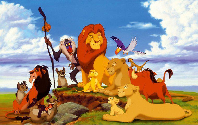 Disney Filme - Der König der Löwen Die schönsten Disney