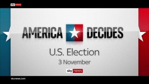U.S. Election 2020 – Sky News Promo