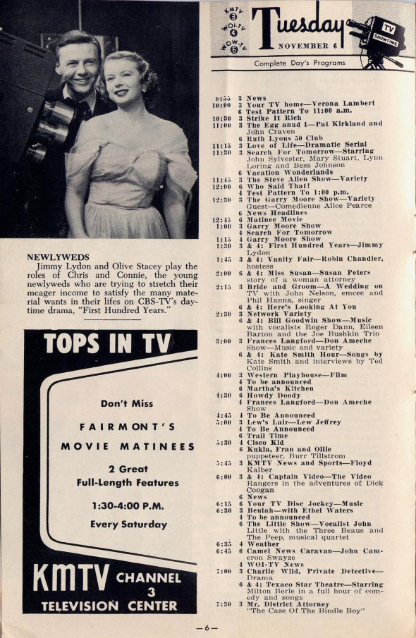 Full Issue of 1951 TV Showtime  Television Obscurities