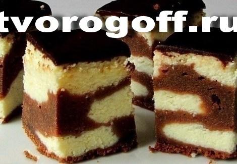Шоколадный сырник, глазурь шоколад, ваниль. Торт творог глазурь.