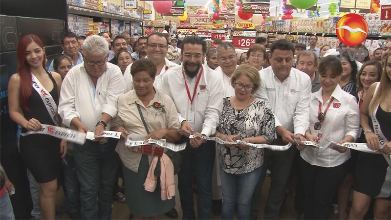 Inauguran super Ley Express en Villa Jurez  Economa y