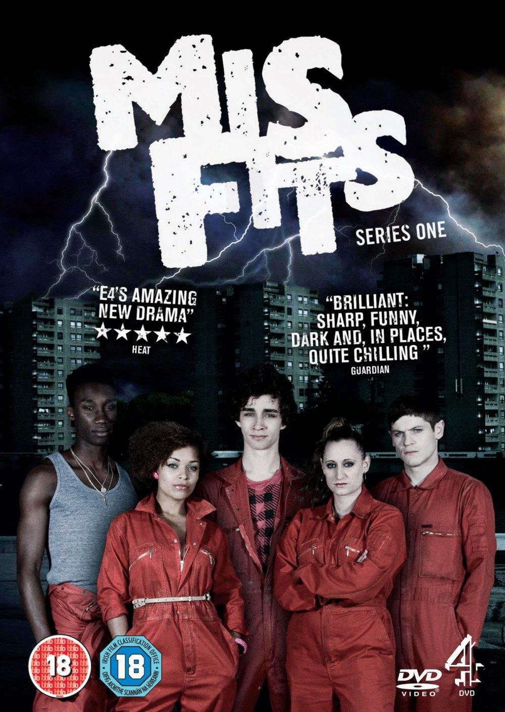 Image result for misfits poster tv show