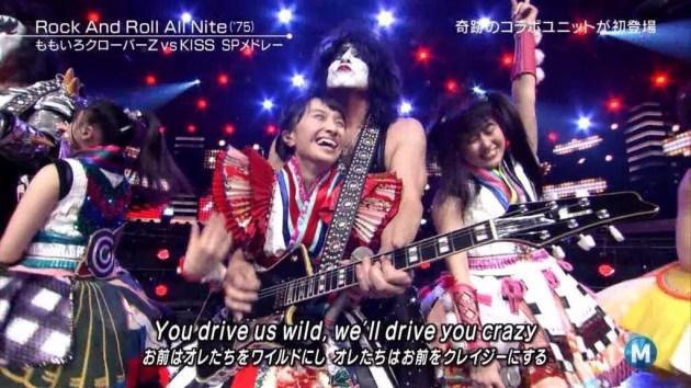 KISS et Momoiro Clover Z Samurai Son