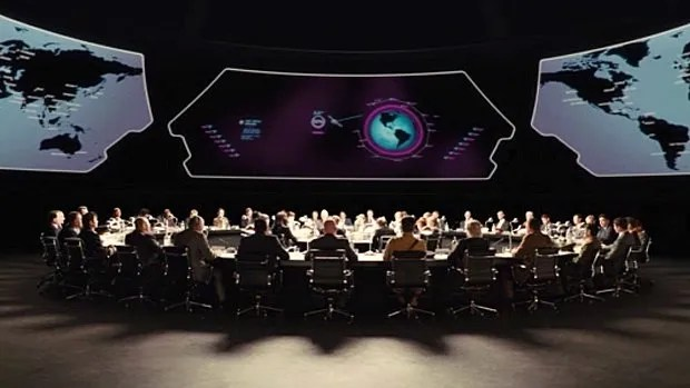 War Room dans Kingsman: The Secret Service (2014)