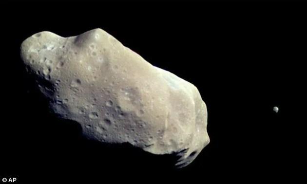 astéroïde UW-158