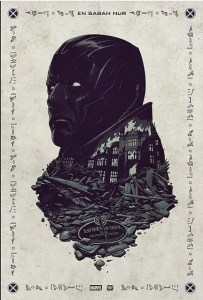 Affiche dévoilée au Comiccon qui montre Apocalypse