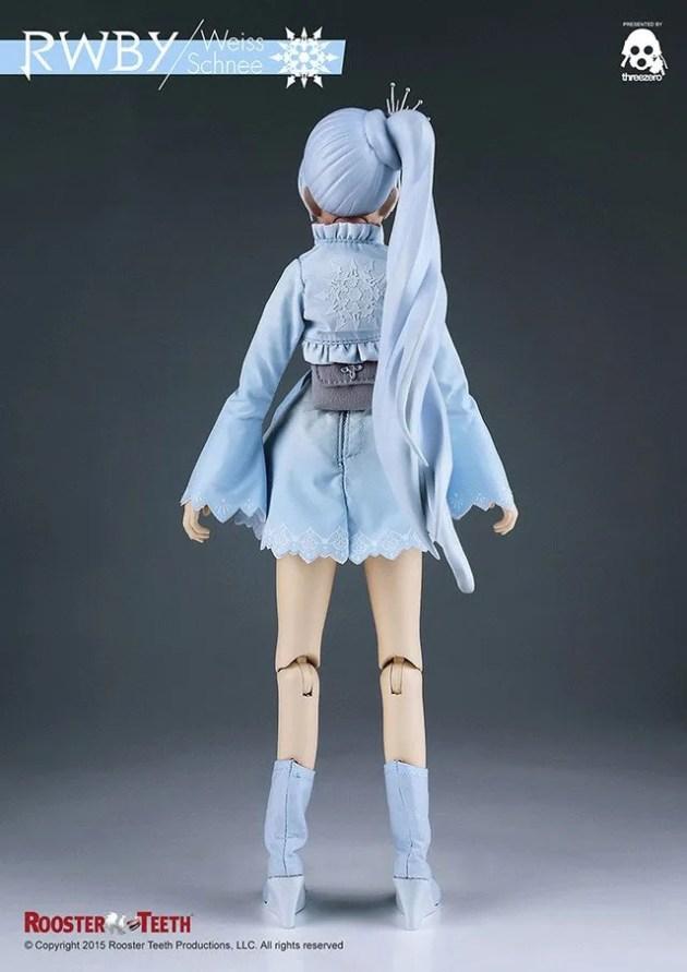 figurine, rwby, weiss schnee