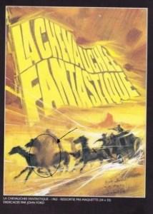 L'affiche de Michel Landi pour Stagecoach (1939), signée et piétinée par John Ford lui-même...