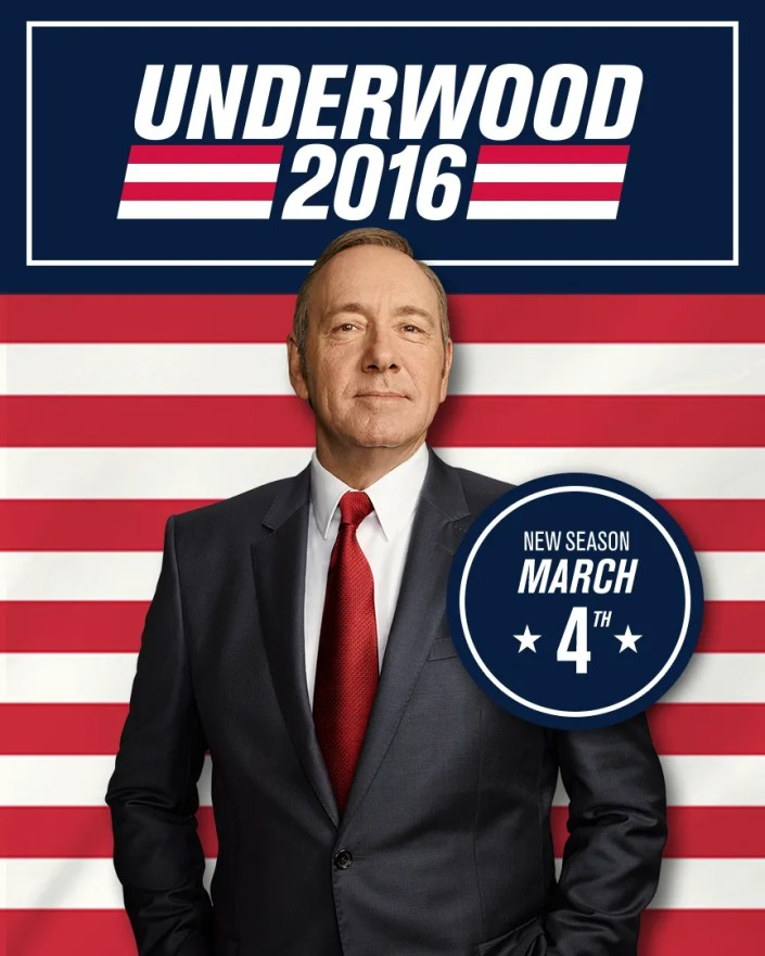 House of Cards  saison 4 affiche