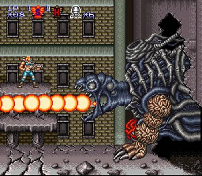Contra 3: The Alien Wars version Super NES