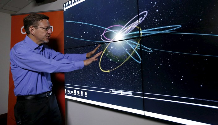 Professor of Planetary Astronomy Mike Brown about Planet Nine at the California Institute of Technology in Pasadena, California